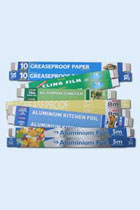Edged Cartons - Foil &amp; ClingFilm - 450&#039;s