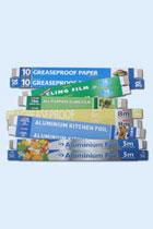 Edged Cartons - Foil & ClingFilm - 450's